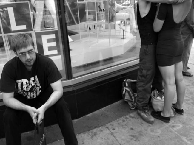 Man and Couple, Yonge & Dundas Toronto