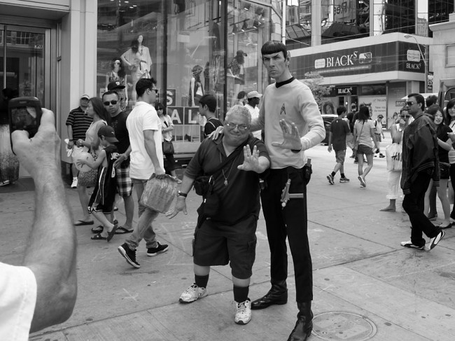 Spock, Yonge Street and Dundas, Toronto