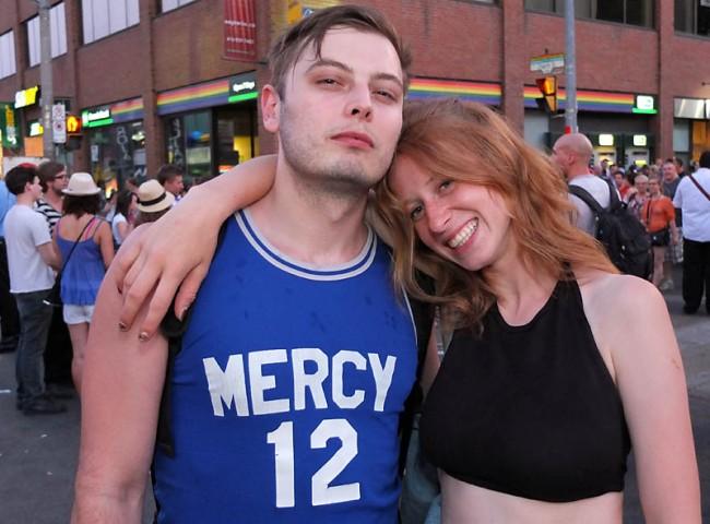 Mercy, Toronto Pride 2012
