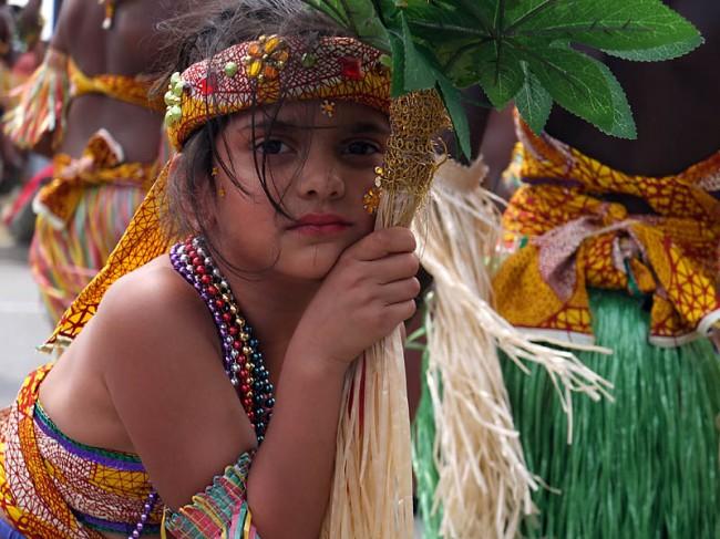 Girl with Palm - Junior Caribana Carnival 2012, Toronto